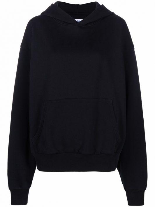 7 days active organic cotton hoodie - Schwarz