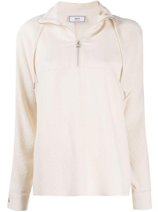 AMI Paris Hemd mit Kragendetail - Nude