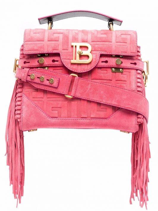 Balmain B-Buzz 23 Handtasche - Rosa
