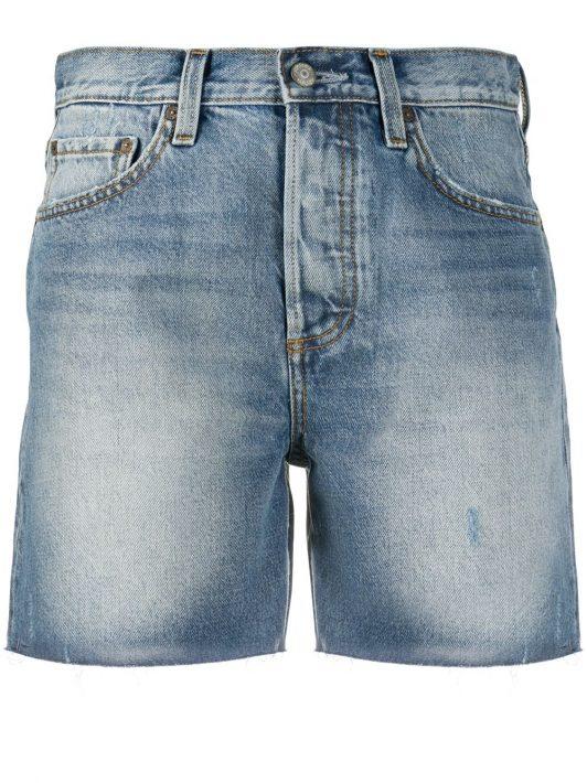 Boyish Jeans Ausgeblichene Jeans-Shorts - Blau