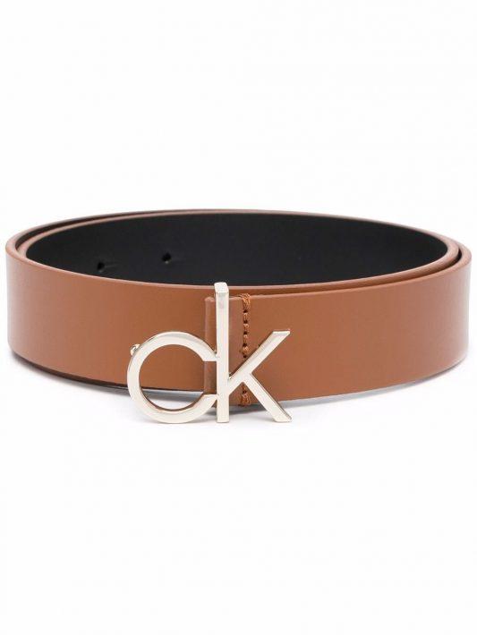 Calvin Klein Gürtel mit CK-Logo 30mm - Braun