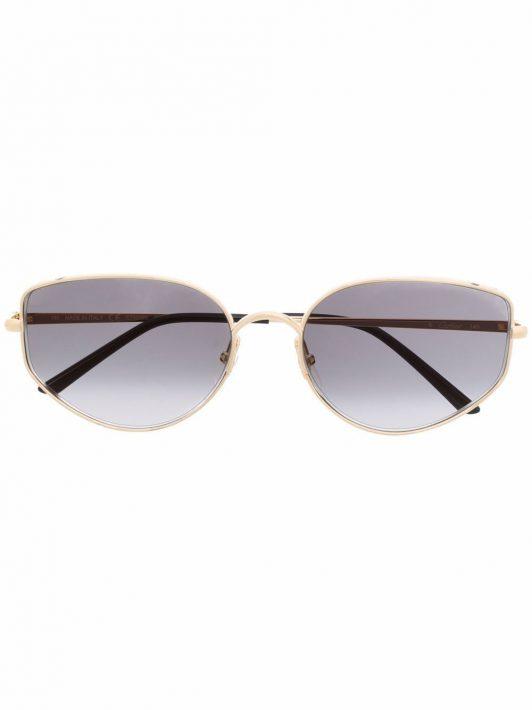 Cartier Eyewear Panthère de Cartier Cat-Eye-Sonnenbrille - Gold