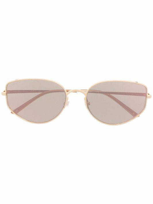 Cartier Eyewear Sonnenbrille mit Panther - Gold