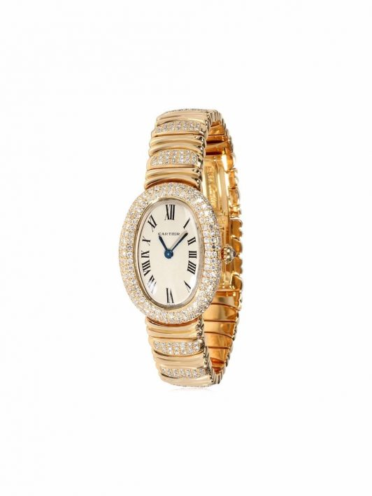 Cartier pre-owned Baignoire 25mm - Gold