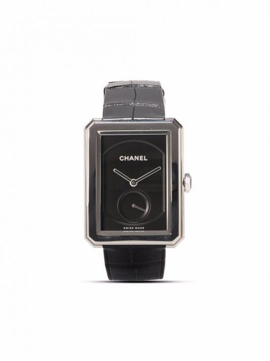 Chanel Pre-Owned 2000s pre-owned Boy-Friend 35mm - Schwarz