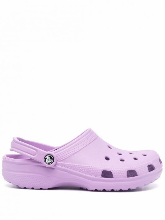 Crocs cut out-detail sandals - Violett