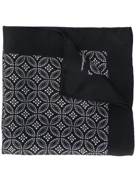 Dolce & Gabbana Schal mit geometrischem Print - Schwarz