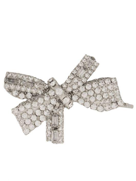 Jennifer Behr Brigitte Haarspange mit Kristallen - Silber