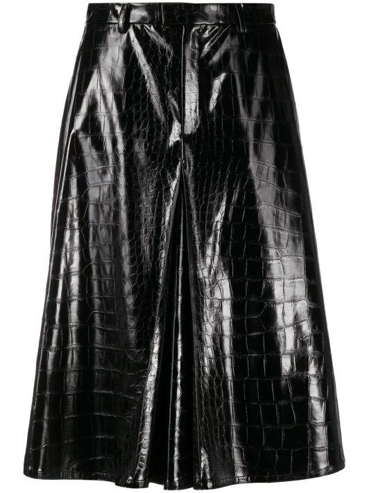 Maison Margiela Shorts mit Logo - Schwarz