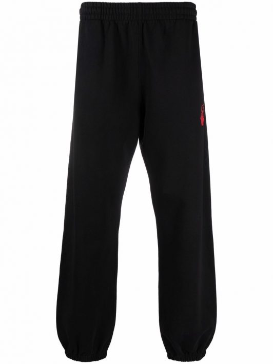 Off-White Hands Off-print trackpants - Schwarz