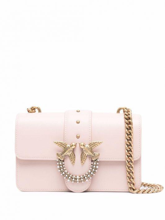 Pinko Lovebird Umhängetasche - Rosa