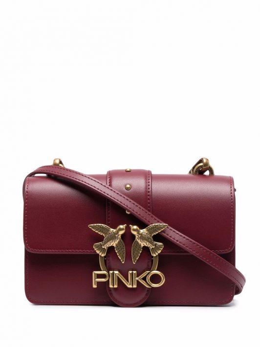 Pinko Mini Love Umhängetasche - Rot