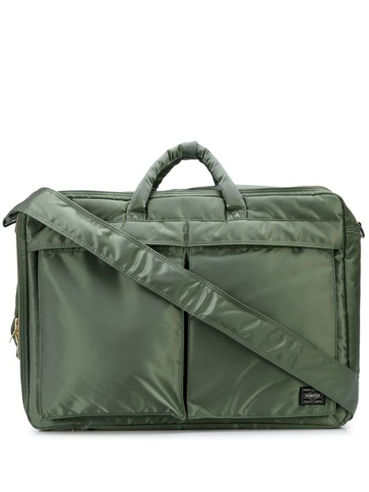 Porter-Yoshida & Co. 'Tanker' Laptoptasche - Grün