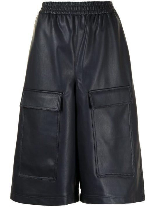 Tibi Knielange Shorts - Blau
