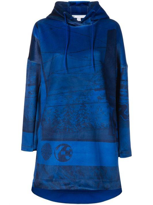 Y-3 Spacer Zine Hoodie - Blau